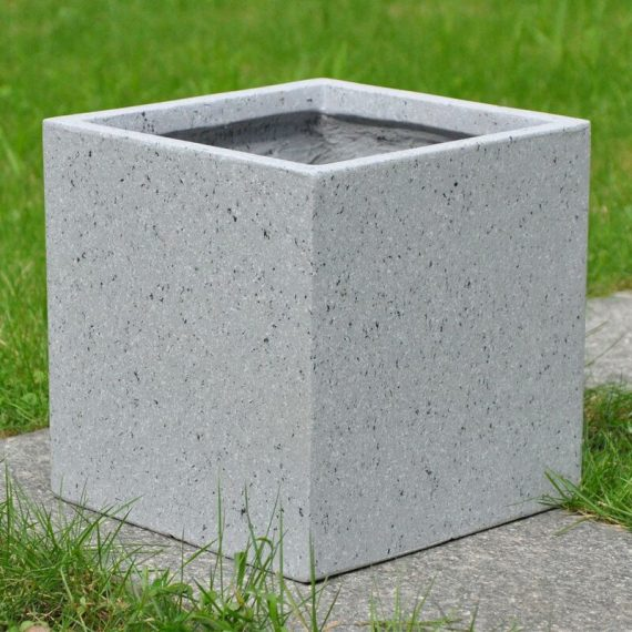 Contemporary Marble Planter Box