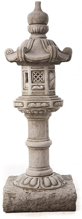 Large Tall Garden Pagoda Almost 1 metre high Stone Cast Statue 65KGS