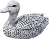 Garden ornament Duck , handmade, frost resitant, made of stone, Made in Germany