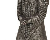 Slate & Rose Garden Ornament General Wen The Small Standing Terracotta Army