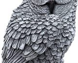 Stone and Style Uhu Owl Cast Stone Frost Proof Weatherproof Garden Ornament