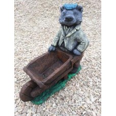 Badger Barrow Painted