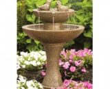 Tranquillity Spill Fountain with Birds